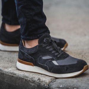 """Greats """"The Pronto"""" black suede sneaker. NIB 9.5"""